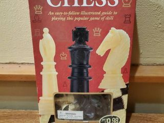 Brand New  Chess  32 Chessman And Chess Board