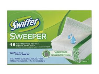 Swiffer Sweeper Wet Mopping Refills  48 nos
