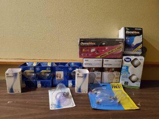 lot of Household lightbulbs