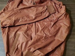 Burnt Members Only Vintage Jacket   Size 40   Made in Hong Kong