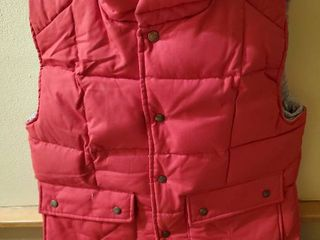 Fire Engine Red St  Johns Insulated Vest