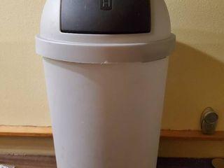 light Grey Kitchen Trash Can