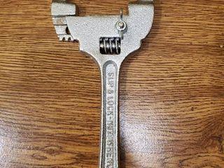Slip   lock Nut Wrench