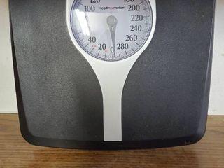 Heathometer Plastic Black and Gray Scale