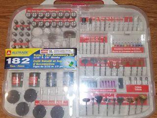 Alltrade 182 Piece Rotary Tool Accessory Set