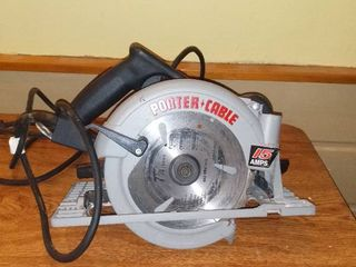Porter Cable Model 347 7 1 4 Inch Heavy Duty Circular Saw Works