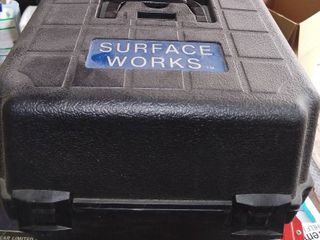 Surface Works 10  Polisher Buffer Tested And Working With Carrying Case And Chord