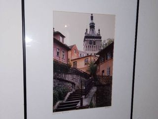 Framed Picture of Sighisoara Romania