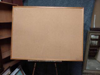 large cork board