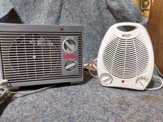2 Vintage Heaters