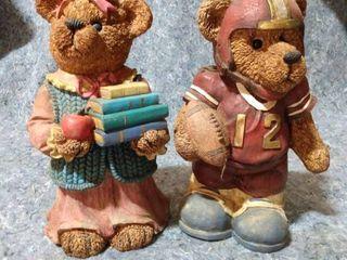 2 Bear Piggy Banks