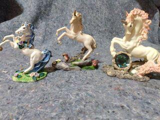 lot of Decorative Unicorn Figurines