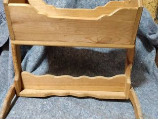 Wooden Toy Baby Cradle