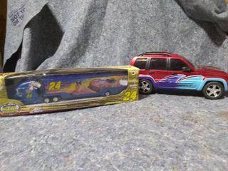 2 Toy Trucks