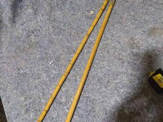 2 Vintage Wooden Canes