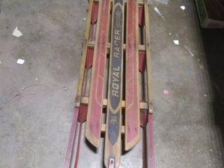 Vintage Royal Racer Snow Sled