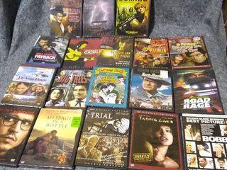 Big lot of DVD Movies