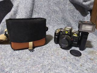 Vintage Nikkei Digital Camera and Carrying Case