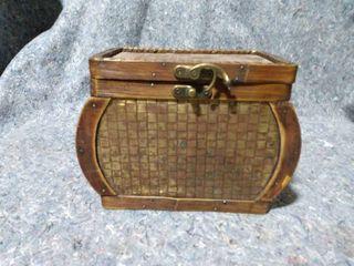 Wicker Basket Box