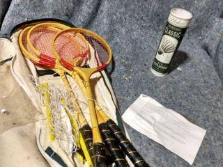 Vintage Badminton Kit