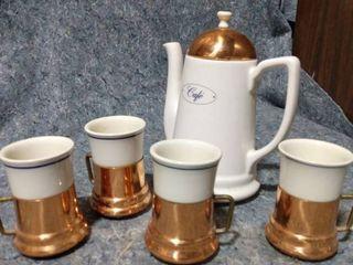 Teleflora Teapot and Cups