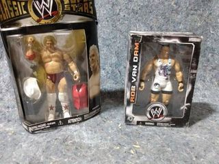 2 In the Box WWE Action Figures