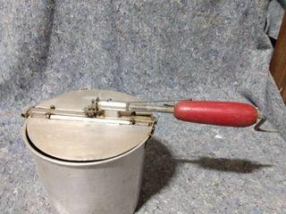 Internal Pieces of an Ice Cream Maker