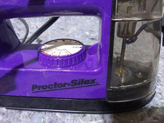 Norelco Steam 700 Steam Iron and Proctor Silex Steam Iron