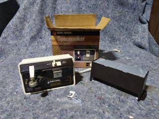 Vintage Black   Decker Spacemaker Electric Can Opener
