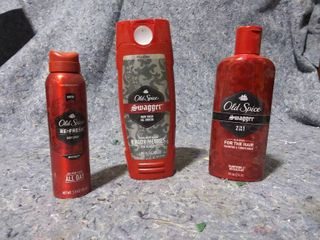Old Spice Body Wash  Shampoo and Conditioner and Body Spray