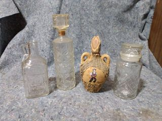 lot of Decanters