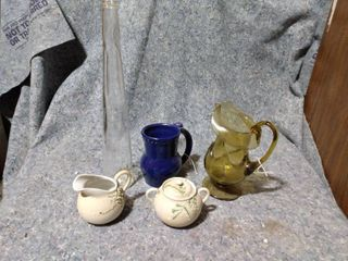 lot of Vases and Pitchers