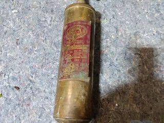 quick aid fire extinguisher still full