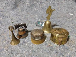Brass Bells and Other Brass items