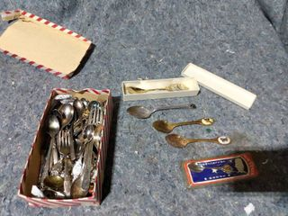 lot of Decorative Spoons