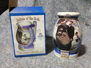 Bottom of the Sixth by Norman Rockwell Collectors Mug
