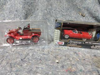 2 Collectible Scale Cars