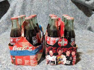 NASCAR Coke bottles full