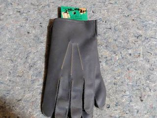 men s leather gloves size extra large