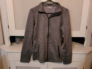 PORT AUTHORITY lADIES GREY JACKET SIZE SMAll