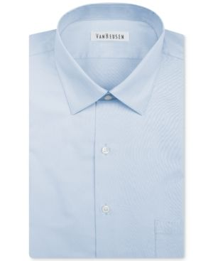 Van Heusen Men s Classic Fit Herringbone Dress Shirt