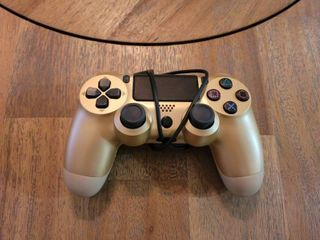 Wireless Controllers for PS4 Playstation 4 Dual Shock Six axis Bluetooth Remote Gaming Gamepad Joystick  Gold