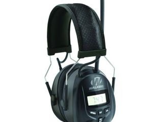 Walkers Hearing Protection Over Ear AM FM Radio Earmuffs with Display GWP RDOM