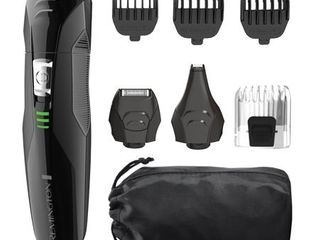 Remington PG6025 All in 1 lithium Powered Grooming Kit  Beard Trimmer  8 Pieces