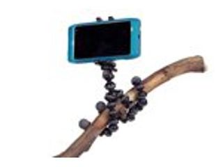 JOBY GripTight GorillaPod Stand   Flexible Universal Smartphone Stand for Small Smartphones including iPhone 6  iPhone 7 and iPhone 8