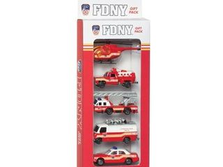 Daron FDNY Vehicle Gift Set  5 Piece