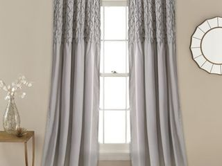 The Gray Barn Sunset Hollow Window Curtain Panels   Set of 2