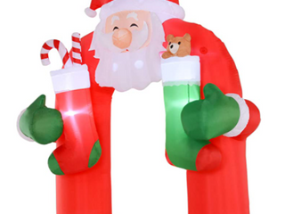 Christmas Holiday Inflatable Archway