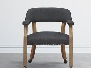 Morrison Caster Game Chair by Greyson living  Retail 143 49