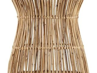 Holly   Martin Ocala Hyacinth Accent Table Stool  Retail 83 99
